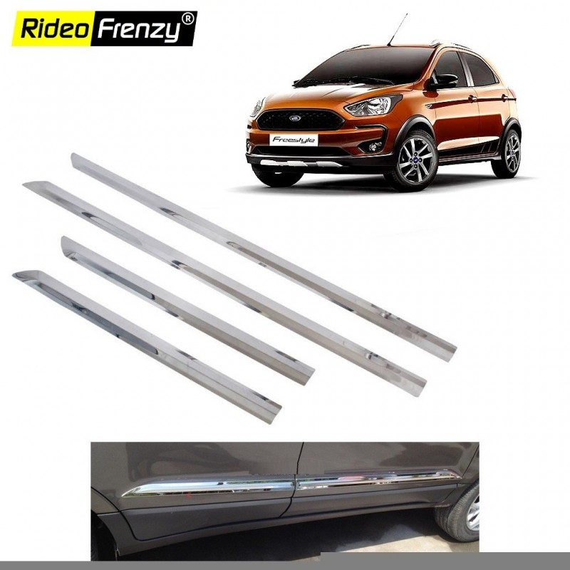 Buy Stainless Steel Chrome Side Beading for Ford FreeStyle at low prices-RideoFrenzy