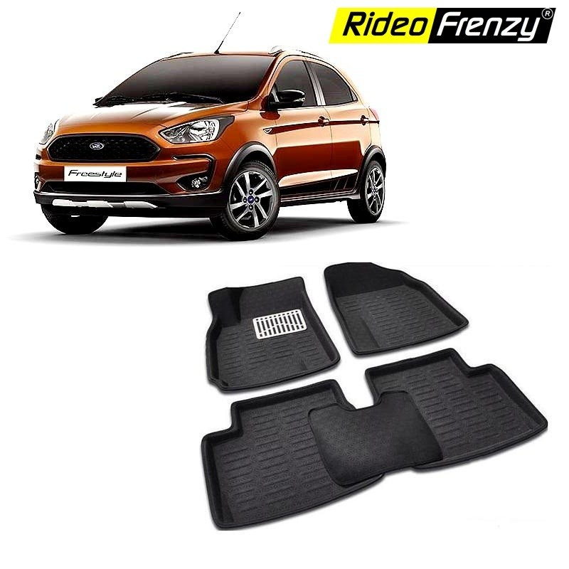Buy Ford FreeStyle Bucket 4D Crocodile Floor Mats online at low prices | Rideofrenzy