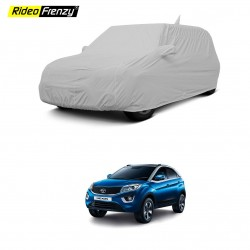 Buy Tata Nexon Car Cover Mirror Pockets & Antenna | 100% Waterproof