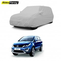Buy Tata HEXA Car Cover Mirror Pockets | 100% Waterproof