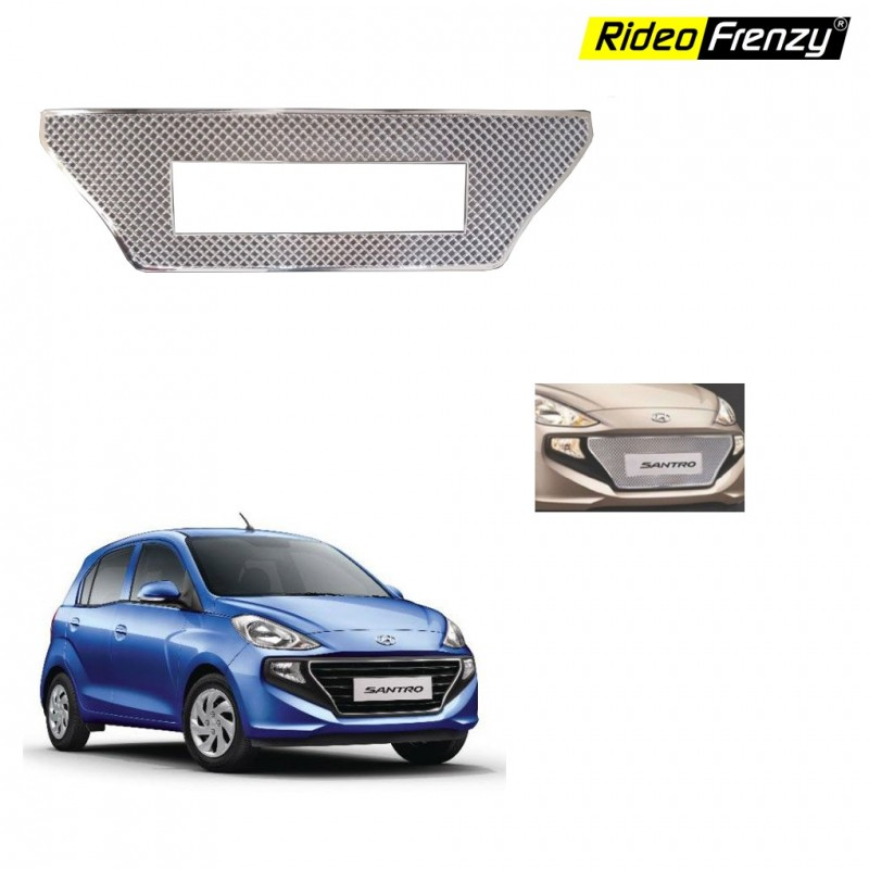Buy New Santro 2018 Front Chrome Grill Covers at low prices-RideoFrenzy