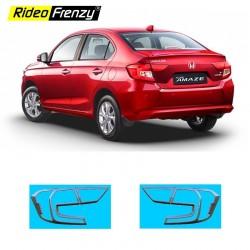 Buy Honda Amaze 2018 Chrome Tail Light Garnish Online India | Rustfree