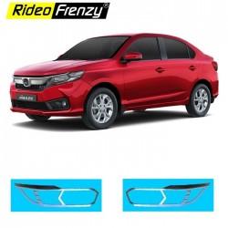 Buy Honda Amaze 2018 Chrome Headlight Garnish online India | RustFree