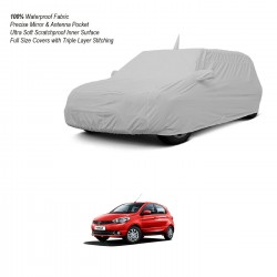 Buy Tata Tiago Body Cover with Mirror Pockets & Antenna | 100% Waterproof Online India