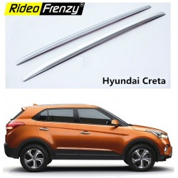 Hyundai Creta 2018 Original Roof Rails Silver | Imported | Drill Free