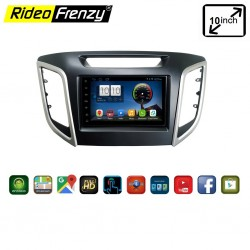 Hyundai Creta Android Touch screen Stereo System With Inbuilt Bluetooth | Wifi | FM Radio | GPS Navigator
