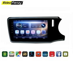 Honda City Android Double Din Stereo System With Inbuilt Bluetooth | Touch Screen | GPS Navigator |Wifi Connect