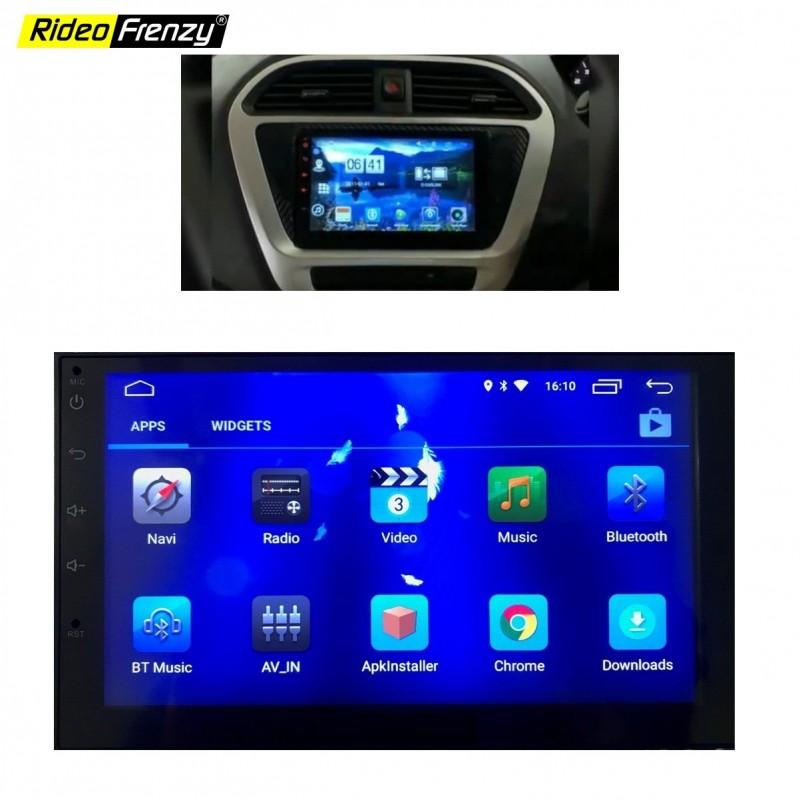 Tata Tiago Tigor Android Touch Screen Stereo System With Inbuilt Bluetooth Wifi Fm Radio