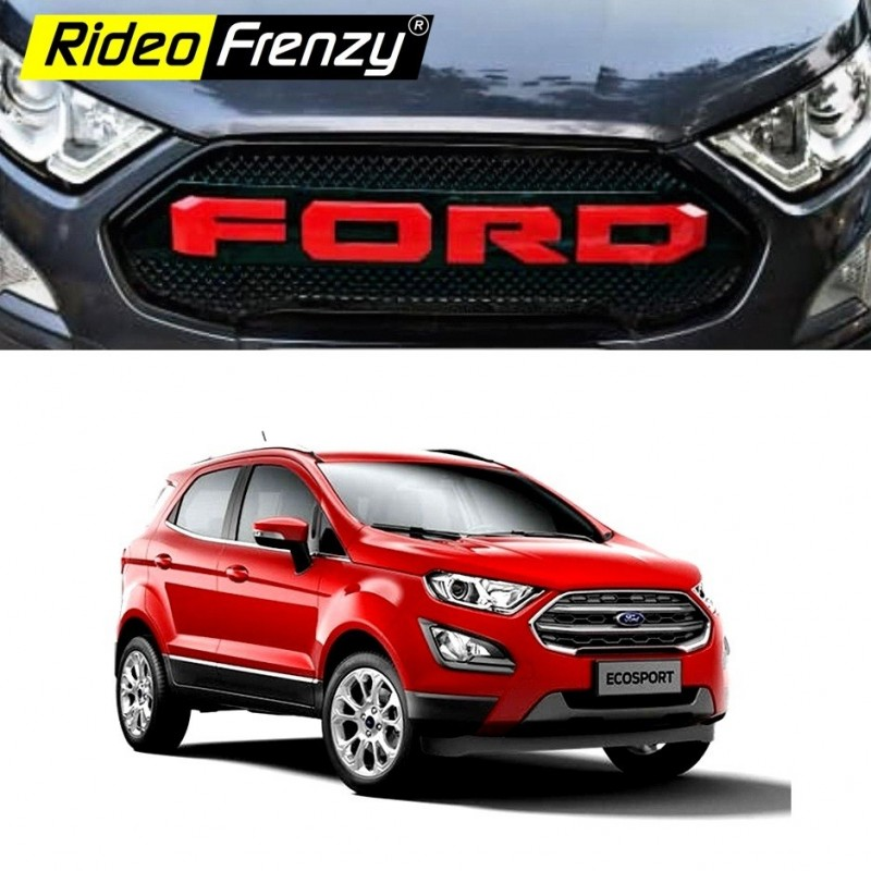 Buy Ford Ecosport 2018 Modified Front Grill Imported Quality Custom Fit