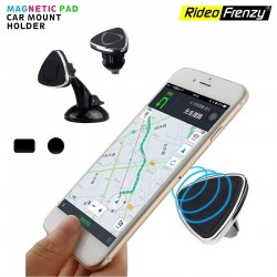 Buy Magnetic Mobile Phone Holder/Stand Mount online India| 360 Degree Rotation