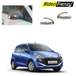 Buy Hyundai Santro 2018 Chrome Mirror Garnish Covers online India | Best Selling
