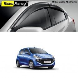 Buy Hyundai Santro 2018 Door Visors | ABS Plastic | Unbreakable Injection Molding