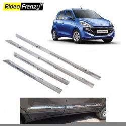 Buy Hyundai Santro 2018 Chrome Side Beading | Stainless Steel | Best Selling