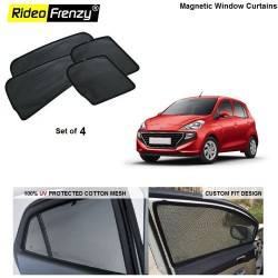 Buy Hyundai Santro 2018 Magnetic Window Sunshade | 90% heat isolation