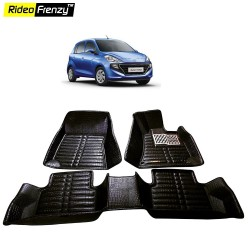 Buy Hyundai Santro 2018 5D Floor Mats | Bucket Fit Design | Waterproof & Odorless | Crocodile Lamination