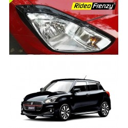 Buy New Swift 2018 Headlight Garnish Online | Piano Black