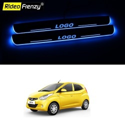 Buy Hyundai Eon 3D Power LED Illuminated Sill/Scuff Plates online India | Free Shipping