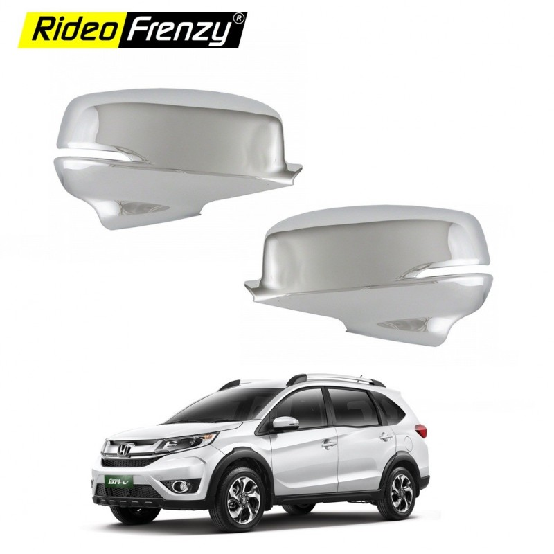 Buy Honda BRV Chrome Mirror Covers Garnish Online India | Best Quality Chrome Accessories