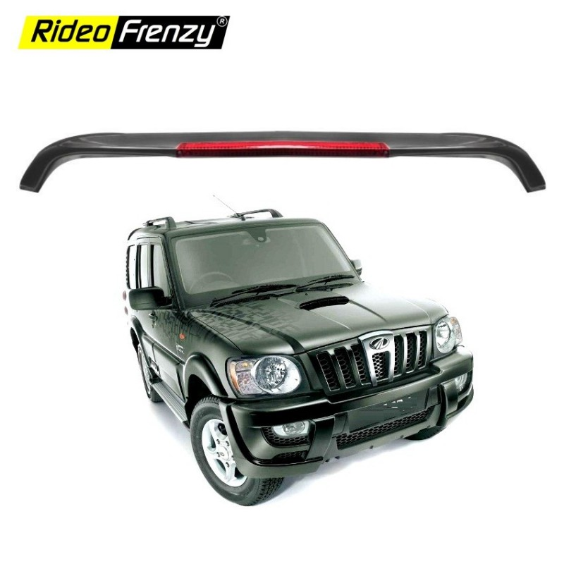 Buy Mahindra Scorpio ABS Blow Spoiler ( Black ) | Free Shipping