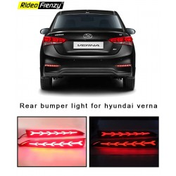 Buy New Hyundai Verna 2018 Rear LED Reflector Lamp DRL | Best Quality