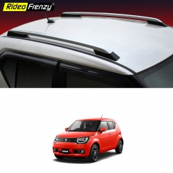 Maruti Ignis Roof Rails Silver ABS Plastic | Imported Quality | Drill Free
