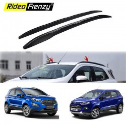 Buy Ford Ecosport Black Roof Rails | Original OEM Type | Drill Free | 100% Genuine Accessories