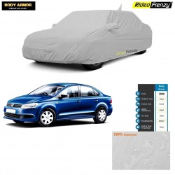 Body Armor Volkswagen Vento Car Cover with Mirror & Antenna Pocket | 100% WaterProof | UV Resistant | No Color Bleeding