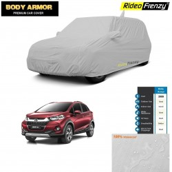 Body Armor Honda WRV Car Cover with Mirror & Antenna Pocket | 100% WaterProof | UV Resistant | Dustproof | No Color Bleeding