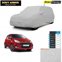 Body Armor Hyundai Grand i10 Car Cover with Mirror & Antenna Pocket | 100% WaterProof | UV Resistant | No Color Bleeding