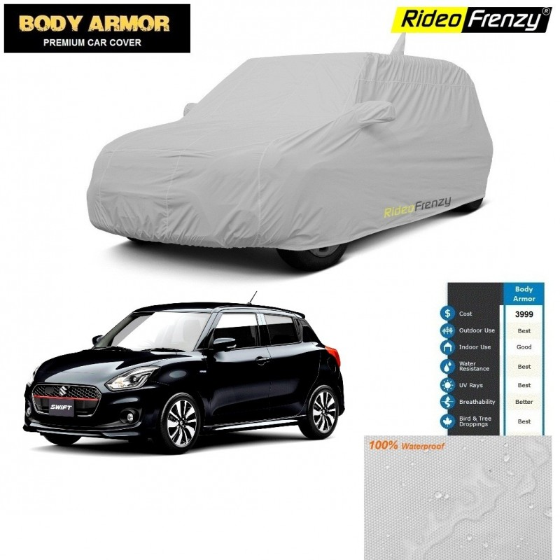 Body Armor New Swift 2018 Car Cover With Mirror Amp Antenna Pocket 100 Waterproof Uv