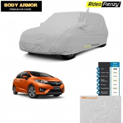 Body Armor Honda Jazz Car Cover with Mirror & Antenna Pocket | 100% WaterProof | UV Resistant | No Color Bleeding