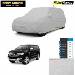Buy Body Armor Ford Endeavour Car Cover with Mirror Pocket | 100% WaterProof | UV Resistant | No Color Bleeding