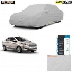 Buy Body Armor Figo Aspire Car Cover with Mirror Pocket | 100% WaterProof | UV Resistant | No Color Bleeding