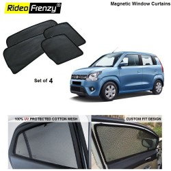 New WagonR 2019 Magnetic Car Window Sunshade | 90% heat isolation