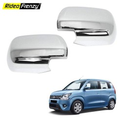 Buy Maruti Celerio Chrome Mirror Covers | Triple Layered Chrome Plating
