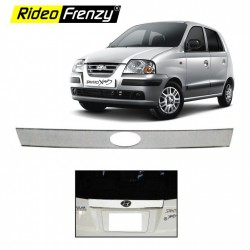 Buy Santro Xing Chrome License Plate Garnish online at low prices