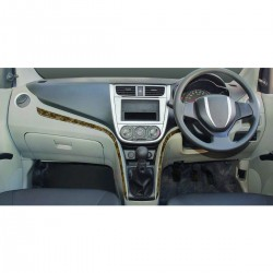 Buy Maruti Celerio Wooden Dashboard Trim Kit online at low prices-RideoFrenzy