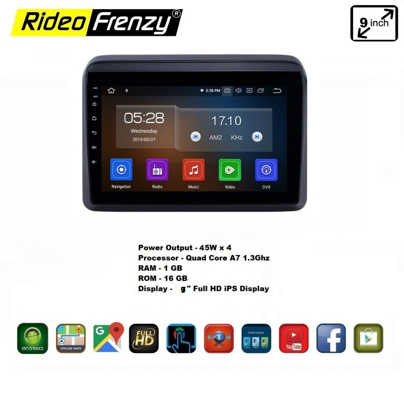 Buy New Ertiga 2018 2019 2020 Android Double Din Stereo System With Inbuilt Bluetooth 9