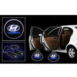 Buy Car Door Ghost / Projector / Shadow Led Light for Hyundai at low prices-RideoFrenzy