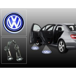 Buy Volkswagen Car Door Ghost / Projector / Shadow Led Light online at low prices | Rideofrenzy