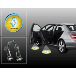 Buy Renault Car Door Ghost / Projector / Shadow Led Light online at low prices | Rideofrenzy