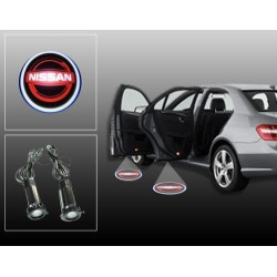 Buy Nissan Car Door Ghost / Projector / Shadow Led Light online at low prices | Rideofrenzy
