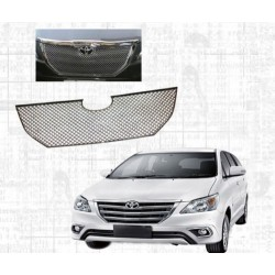 Buy Toyota Innova 2014 Front Chrome Grill Covers at low prices-RideoFrenzy