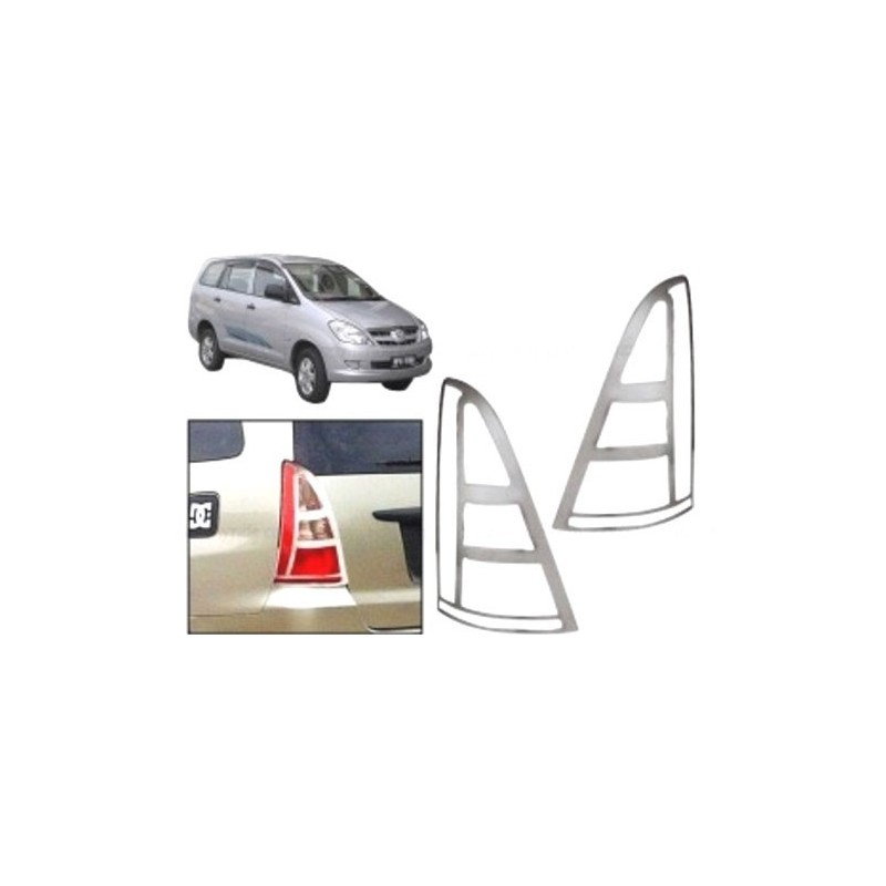 Buy Toyota Innova Chrome Tail Light Covers online at low prices-Rideofrenzy