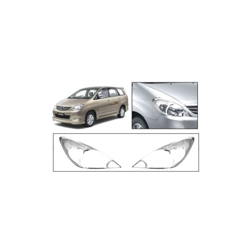 Buy Toyota Innova Chrome Head Light Covers online at low prices-Rideofrenzy