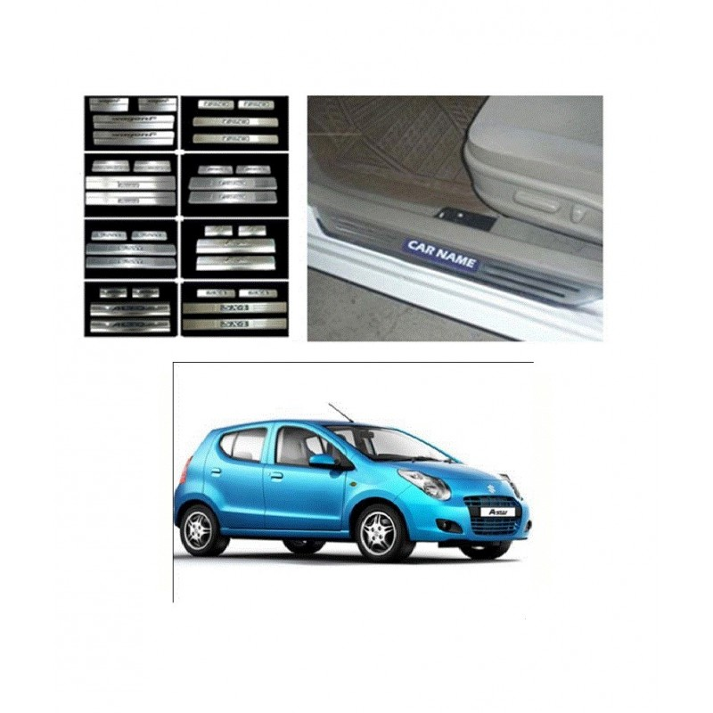Buy Maruti A Star Door Stainless Steel Sill Plate online at low prices-RideoFrenzy