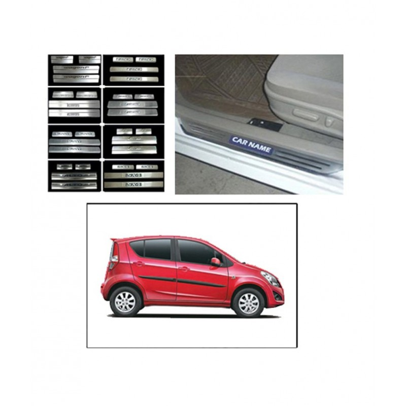 Buy Maruti Ritz Door Stainless Steel Sill / Scuff Plates online at low prices-RideoFrenzy