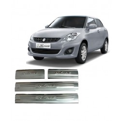 Buy Maruti Swift Dzire Door Stainless Steel Sill Plates online at low prices-RideoFrenzy