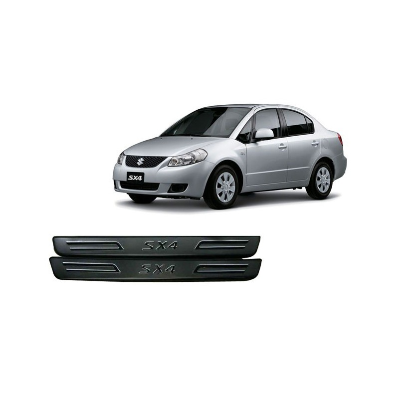 Buy Original OEM Maruti SX4 Door Stainless Steel Sill Plate at low prices-RideoFrenzy