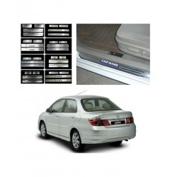 Buy Honda City Zx Door Stainless Steel Sill Plate online at low prices-RideoFrenzy